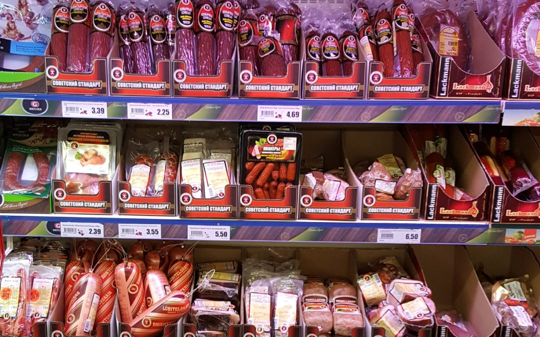 """Neues von """"Sovetskij Standard"""" im Frischmarkt Gifhorn"""