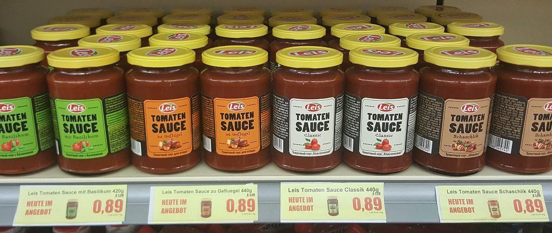 LEIS Tomaten Saucen im Angebot