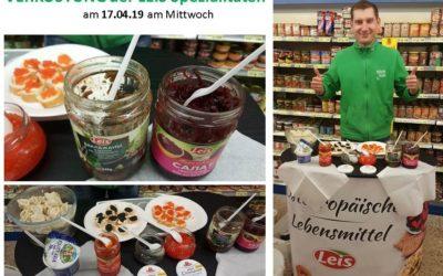 Verkostung der LEIS Spezialitäten im Frischmarkt…