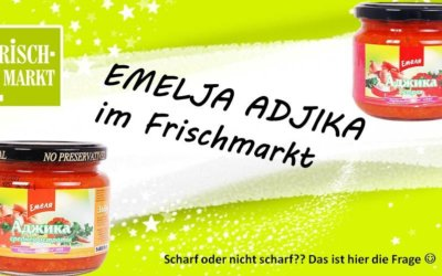Emelja Adjika Paprikasoße im Frischmarkt Gifhorn