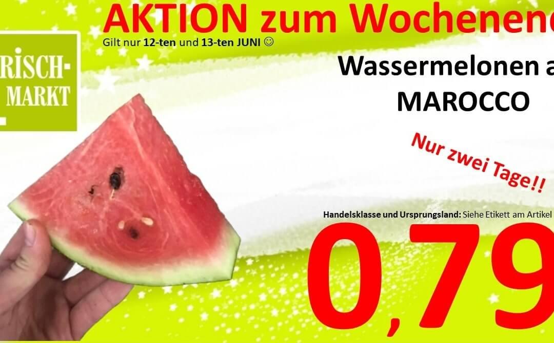Leckere Wassermelonen im Frischmarkt Gifhorn