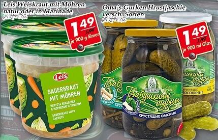 Wochenangebot im Frischmarkt Gifhorn