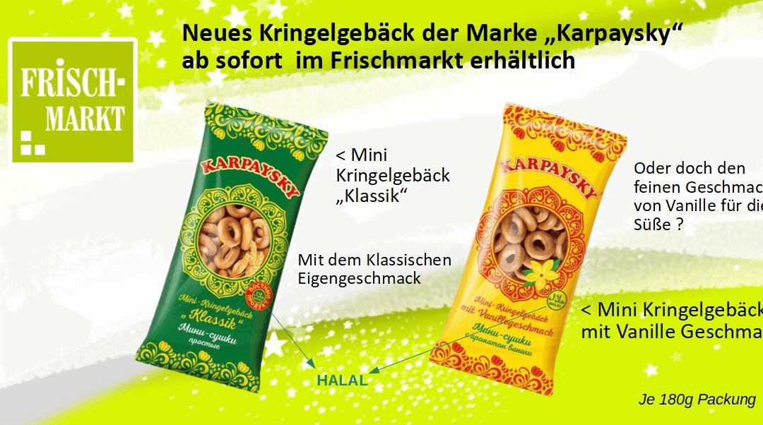 Russische Spezialität – Karpaysky Kringelgebäck im Frischmarkt Gifhorn