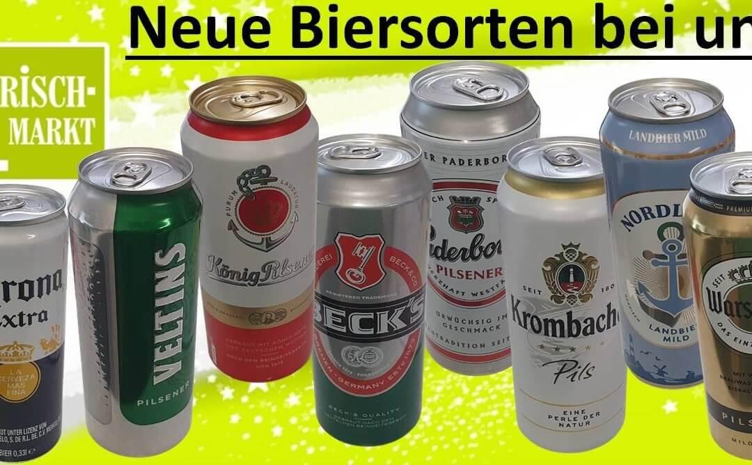 Neues Bier im Frischmarkt Gifhorn