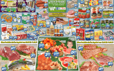 Wochenangebot im Frischmarkt Gifhorn vom 09.08. bis 14.08.2021