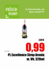 Polnischer Sirup im Frischmarkt Gifhorn fast GRATIS