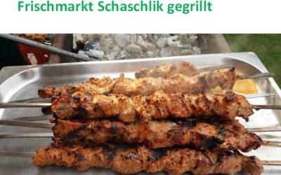 Schaschlik KOSTENLOS im Frischmarkt Gifhorn